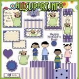 Mother's Day Clip Art & Printables Kit - Alice Smith Clip Art
