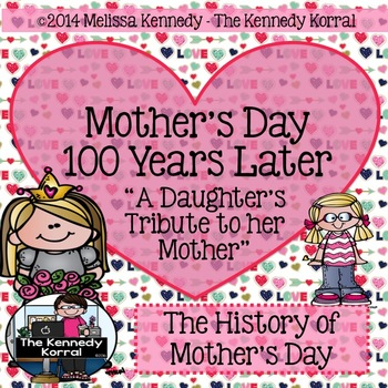 Mother's Day History {Cloze Reading, Comprehension Questio