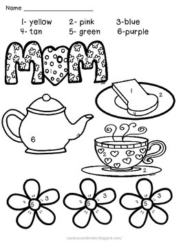 Mother's Day Color by Number, Song Posters, & Scrambled Sentences