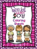 Mother's Day Coloring Sheets