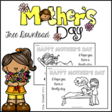 Mother's Day Coloring Pages Free Download