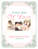 Mother's Day Cookbook Template and Recipe Page