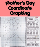Happy Mother's Day Activity: Coordinate Graphing Picture/ Ordered Pairs