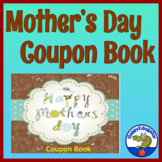 Mother's Day Coupon Book with Poem and Writing Page