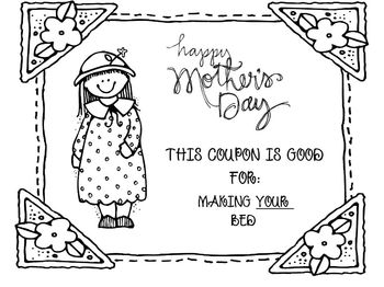 Mother's Day Coupon Book: A Fun and Easy Gift