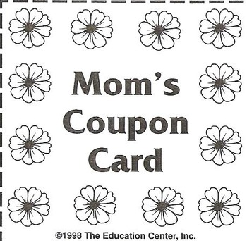Mom's Coupon Card