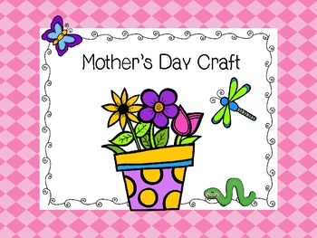Mother's Day Craft-Basket of Flowers