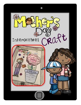 Mother's Day Craft - Build your Mom, Interactive iPad/Tablet