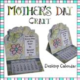 Mother's Day Craft - Desktop Calendar