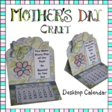 Mother's Day Craft - Desktop Calendar