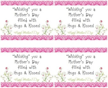 Mother's Day Craft Gift Tag