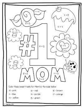 mother 39 s day craft idea and free printables by amanda hagaman tpt. Black Bedroom Furniture Sets. Home Design Ideas