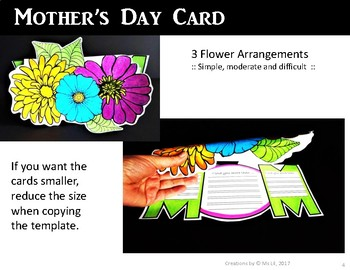 Mothers Day Craft  ::  Mother's Day Writing  ::  Mother's Day Card