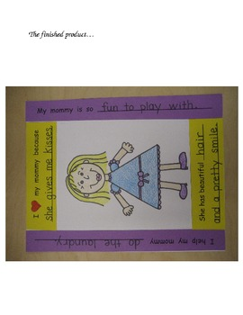 Holidays - Mother's Day Picture Frame and Writing Craft