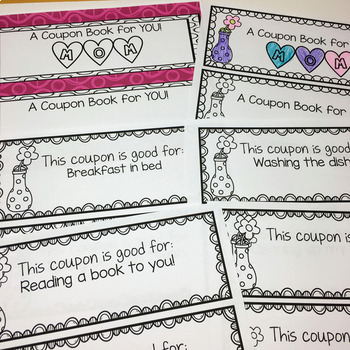 Mother's Day Craft and Coupon Book