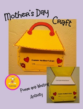 Mother's Day Craft and Writing Activity