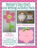 Mother's Day Craft and Writing Activity Pack
