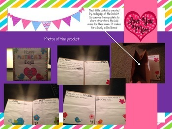 Mother's Day Craft Book