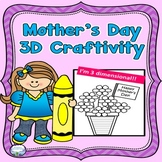Mother's Day Craft 3D Flowers