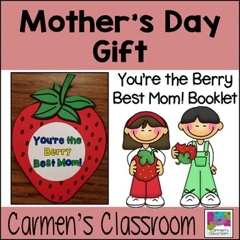 Mother's Day Craftivity Gift ~ Quick, Easy, and Ready to Go!