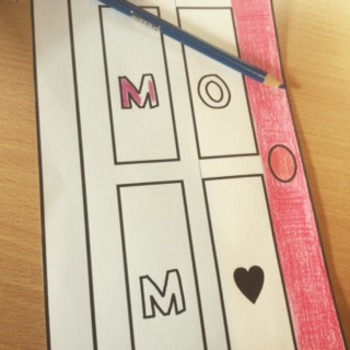 Mother's Day Craft Activity Project | Writing Craftivity for Mom's / Mum's