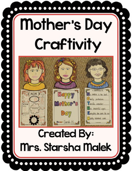 Mother's Day Craftivity (S. Malek)