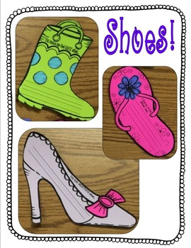 """Mother's Day Craftivity - You're the """"Perfect Fit"""" for Me! (Shoes Galore!)"""