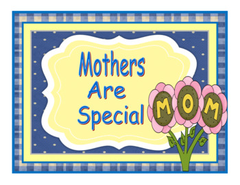 Mother's Day Craftivity and Card