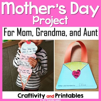 Mother's Day Craftivity and Printables