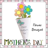 Mother's Day Crafts - Flower Bouquet for MOM