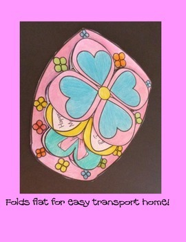 Mother's Day Crafts - Folding Flowers Card