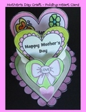 Mother's Day Crafts - Folding Heart Card