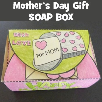 Mother's Day Crafts - Soap Gift Box