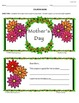 Mother's Day - Crafts, Writing and More!
