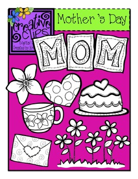 Mother's Day {Creative Clips Digital Clipart}