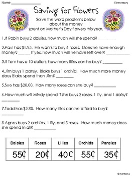 Mother's Day Critical Thinking FREEBIES!