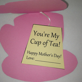 Mother's Day Cup of Tea Card