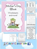 Mother's Day Ebook - (British Spelling) - 50 pages