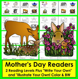 Mother's Day Activities: Readers + Writing Activity - 2 Levels
