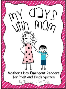 Mother's Day Emergent Readers and Craft for PreK and Kindergarten