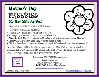 Mother's Day - FREE