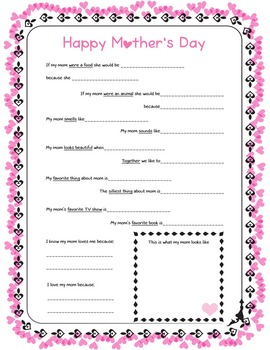 Mother's Day - FREE - Funny answers :)