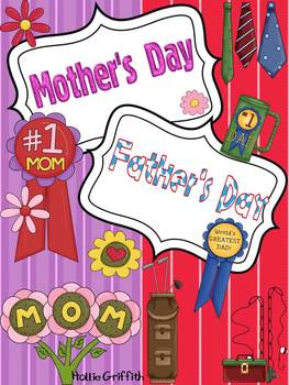 Mother's Day & Father's Day Bundle {Book, Craftivities, &