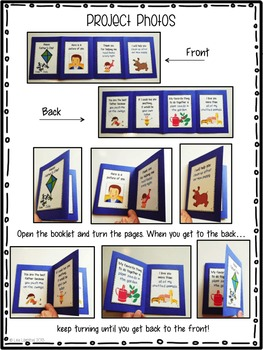 Mother's Day & Father's Day Card Activities ~ Accordion Fold Mini-Books