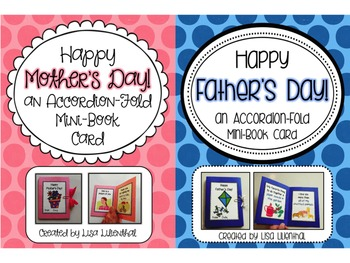 Mother's Day & Father's Day Card Activities ~ Accordion Fo