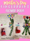 Mother's Day Fingerprint Flower Poem Gift/Craft