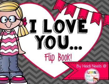 Valentine's Day Writing Flip Book