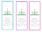 Mother's Day Flower Bookmark