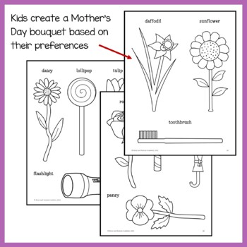 Mother's Day Math Goofy Glyph (Kindergarten Common Core)