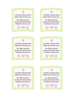 photo regarding Printable Mothers Day Poems named Moms Working day Flower Poem Printable